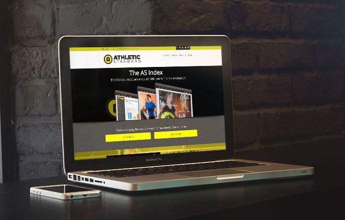 Athletic Standard | Customized Wordpress Website Design & Development in Delray Beach FL by Scott Sanok